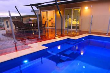 New terrace pool installation my fibreglass pool easy - Diy fibreglass swimming pool installation ...