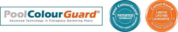 pool colour guard protection logos