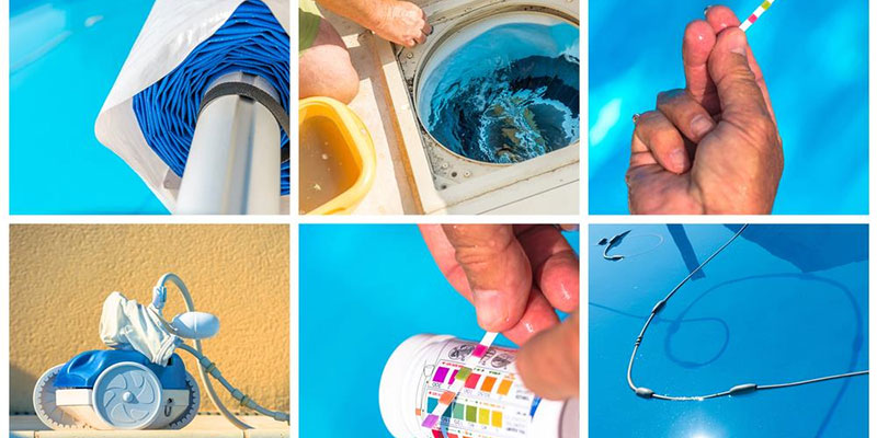 How to remove stains from fibreglass pools