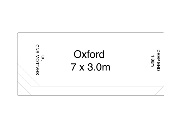 Oxford Fibreglass Pool Diagram