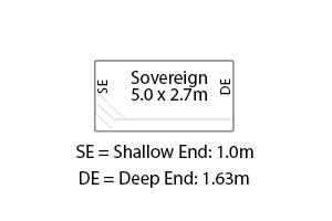 Sovereign Fibreglass Pool Diagram