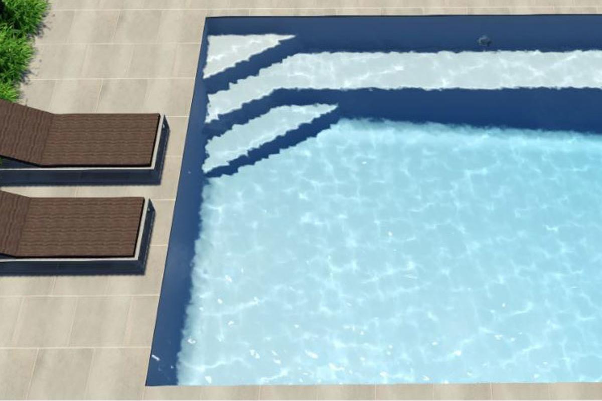 Kensington Fibreglass Pool