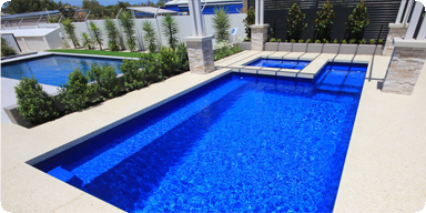 Fibreglass Pool and Spa