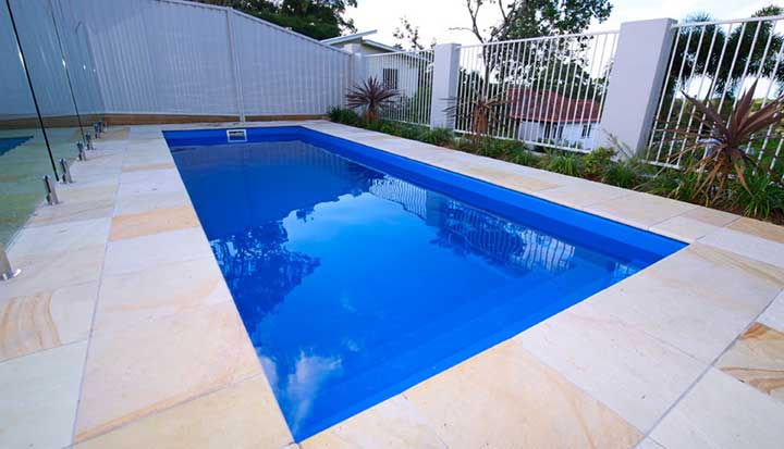 Pool range my fibreglass pool easy Fibreglass pools vs concrete pools