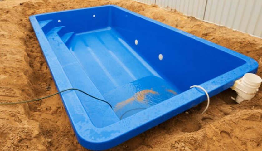 Fibreglass Pool Installation