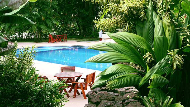 Fibreglass Pool Landscaping