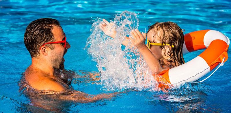Fibreglass pool tips