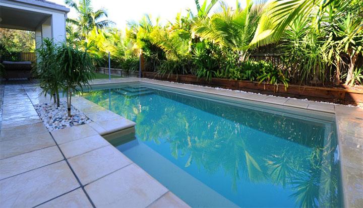 inground fibreglass pool