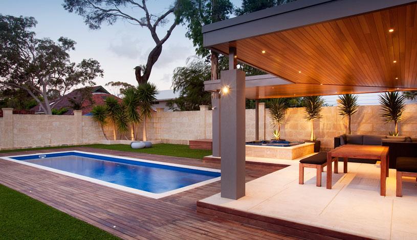 Milan Fibreglass Pool Design