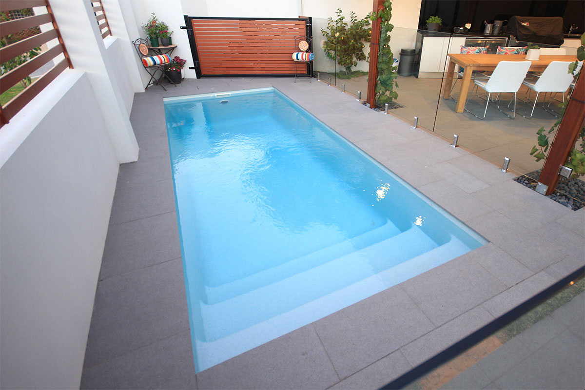 Paradiso Fibreglass Pool