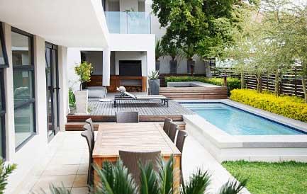 fibreglass pool surrounds