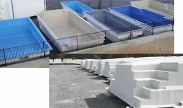 Fibreglass pool easy pool shell kits pool installation - Diy fibreglass swimming pool installation ...