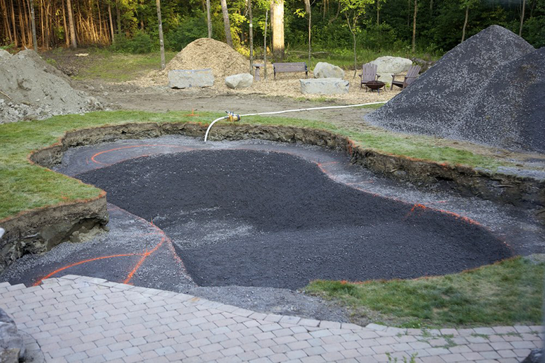 Preperation for Pool Building