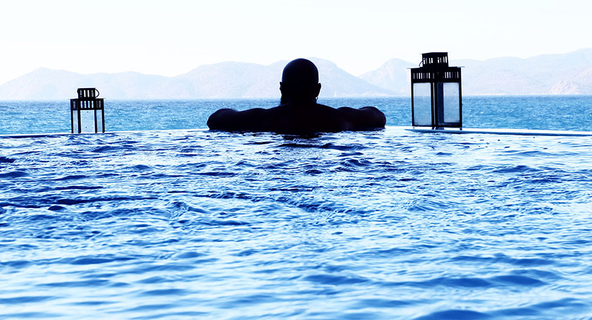 Salt Water Fibreglass Pool