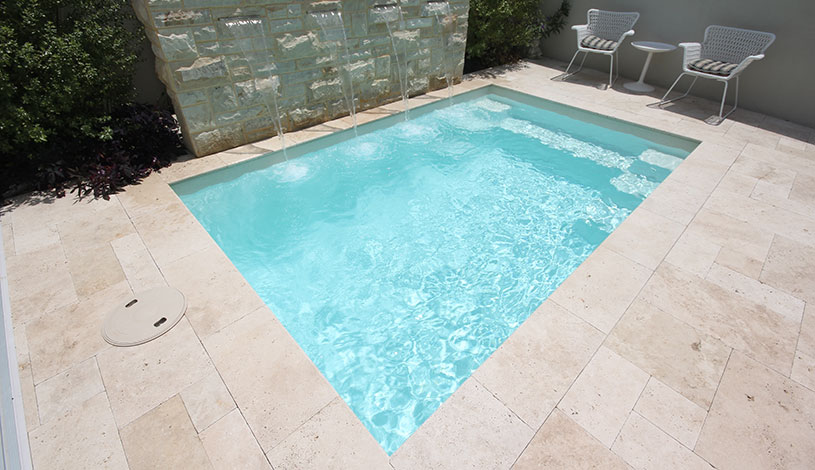 Serenity Fibreglass Pool Design