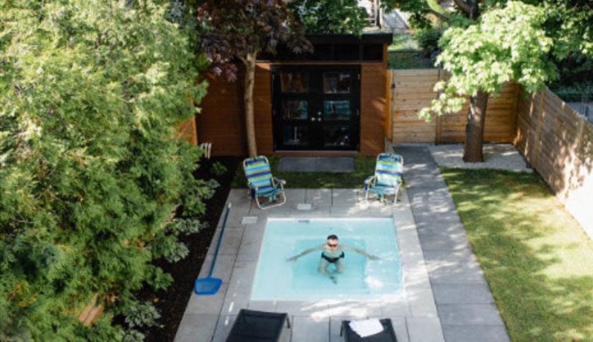Smalll Fibreglass Pool