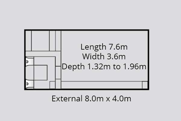 St Remi Fibreglass Pool Diagram