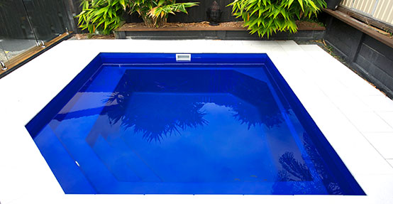 Versace pool design - inground DIY fibreglass swimming pool kit
