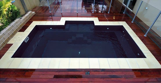 Nirvana pool design - DIY inground fibreglass swimming pool kit