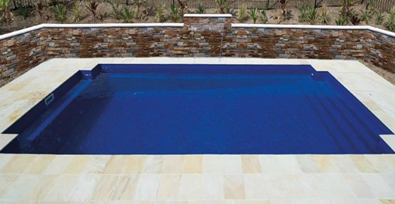 Classic design inground DIY Fibreglass pool kit