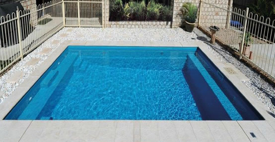 Entertainer design DIY inground fibreglass swimming pool kit