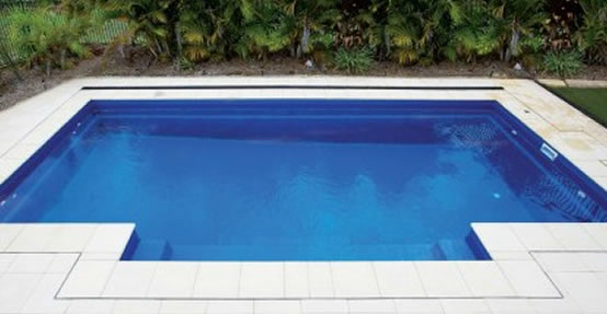 The Heritage design DIY inground fibreglass swimming pool kit
