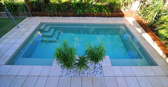 Serenity pool design - DIY Fibreglass inground swimming pool kit